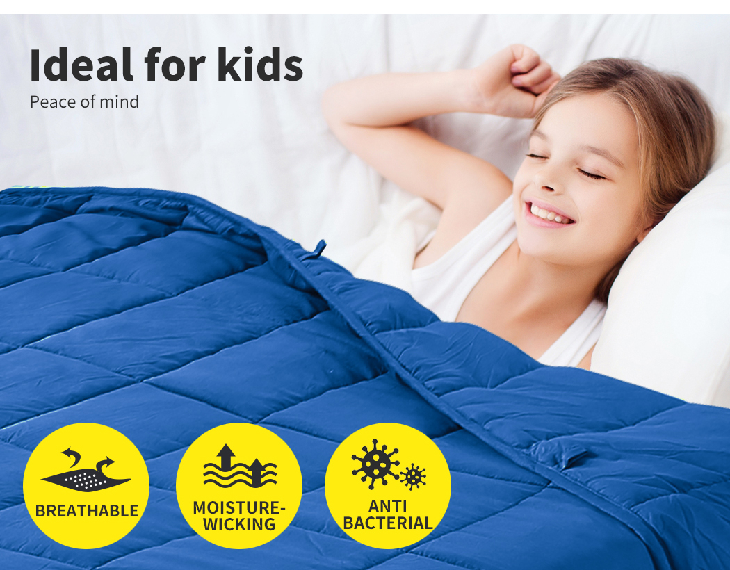 thumbnail 39 - DreamZ Weighted Blanket Heavy Gravity Deep Relax 5/7/9KG Adult Kid Double Queen