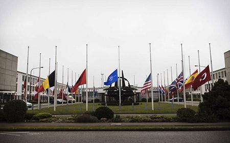 Luto en las banderas