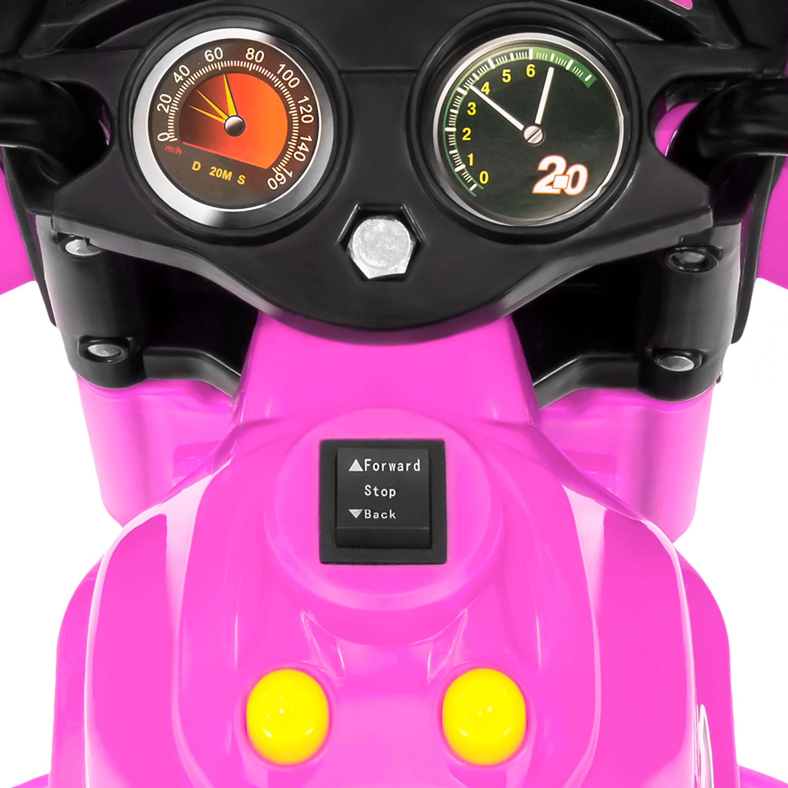 BCP-6V-Kids-3-Wheel-Motorcycle-Ride-On-Toy-w-LED-Lights-Music-Storage thumbnail 29