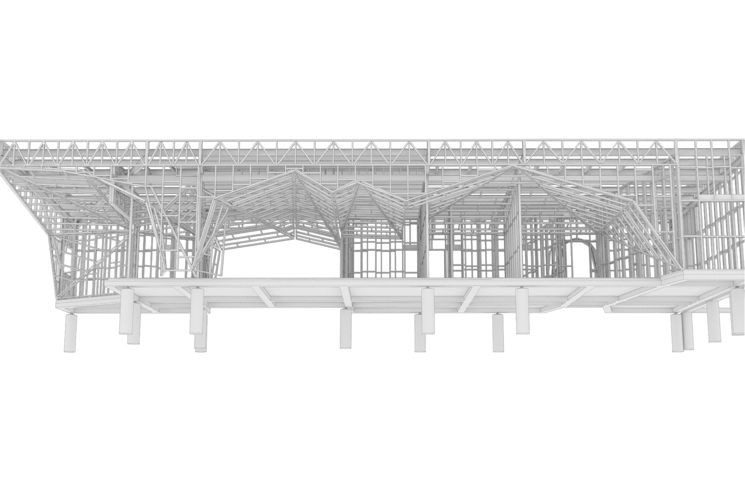 Timber Structure Model