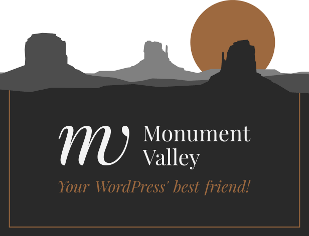 That's Monument Valley. Your WordPress' best friend.