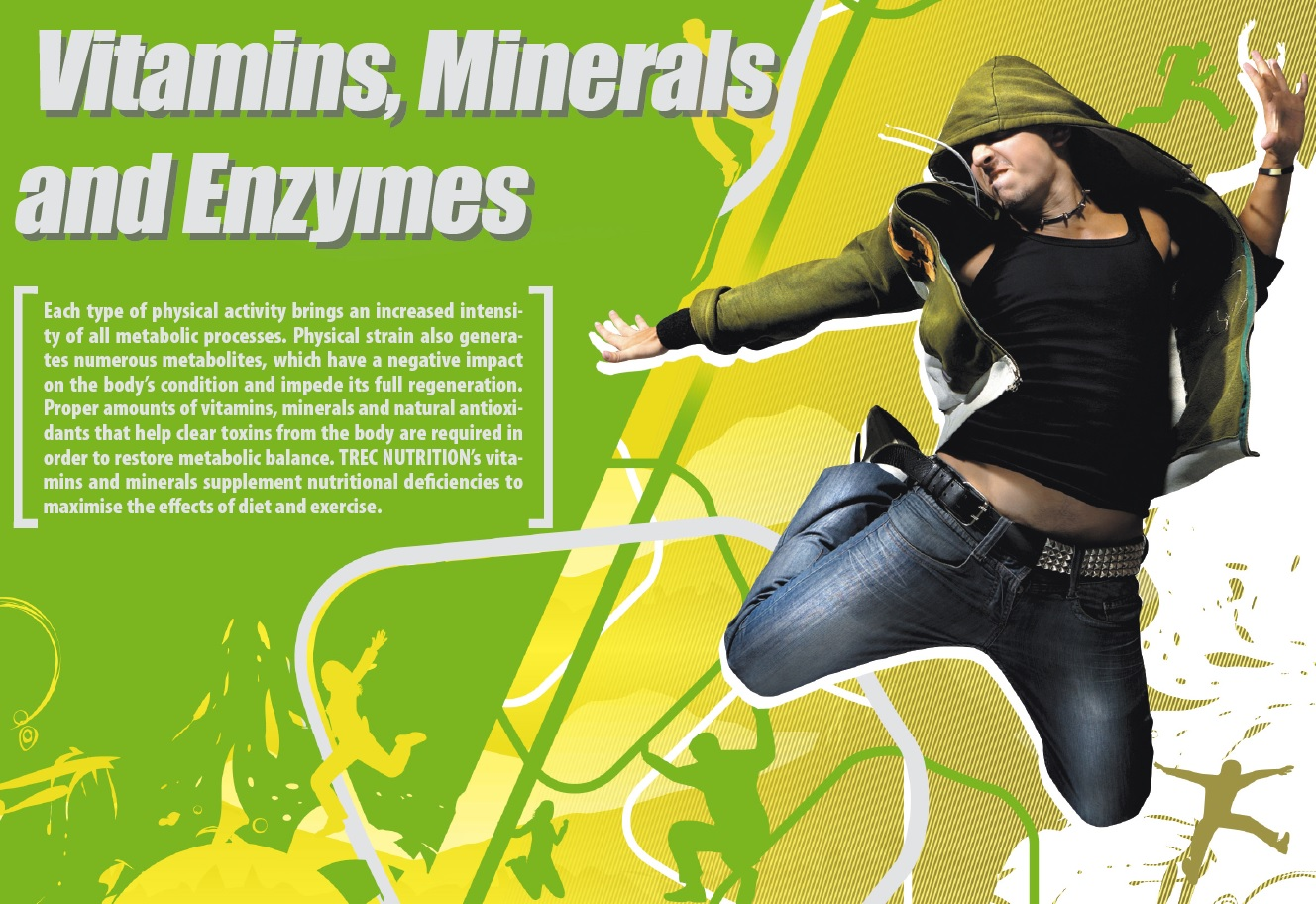 Vitamins, Minerals and Enzymes