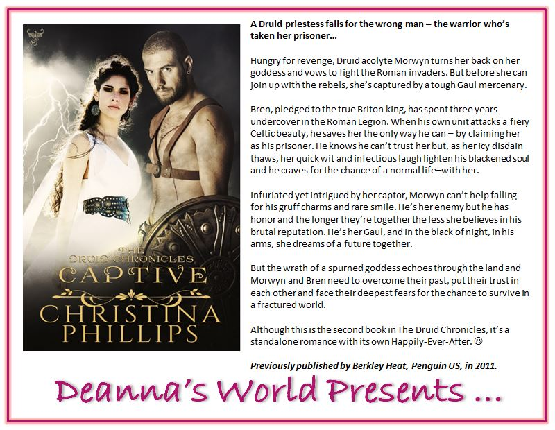 Captive by Christina Phillips blurb