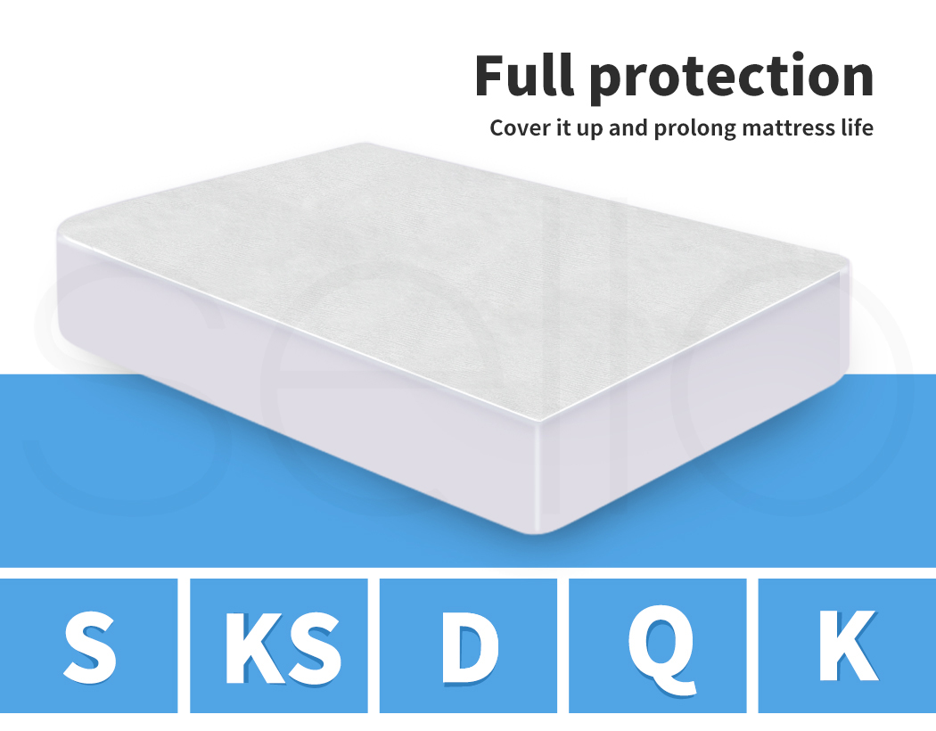 DreamZ-Mattress-Protector-Topper-Bamboo-Fabric-Waterproof-Double-Queen-King-Size thumbnail 20