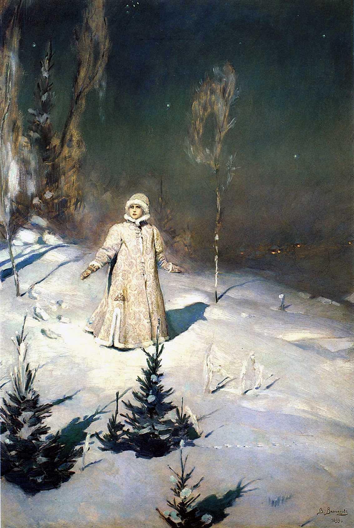 В Васнецов. Снегурочка. 1899 г