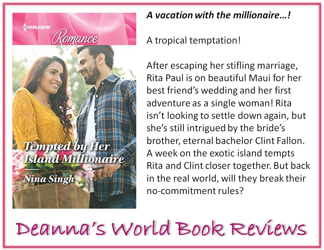 Tempted By Her Island Millionaire by Nina Singh blurb