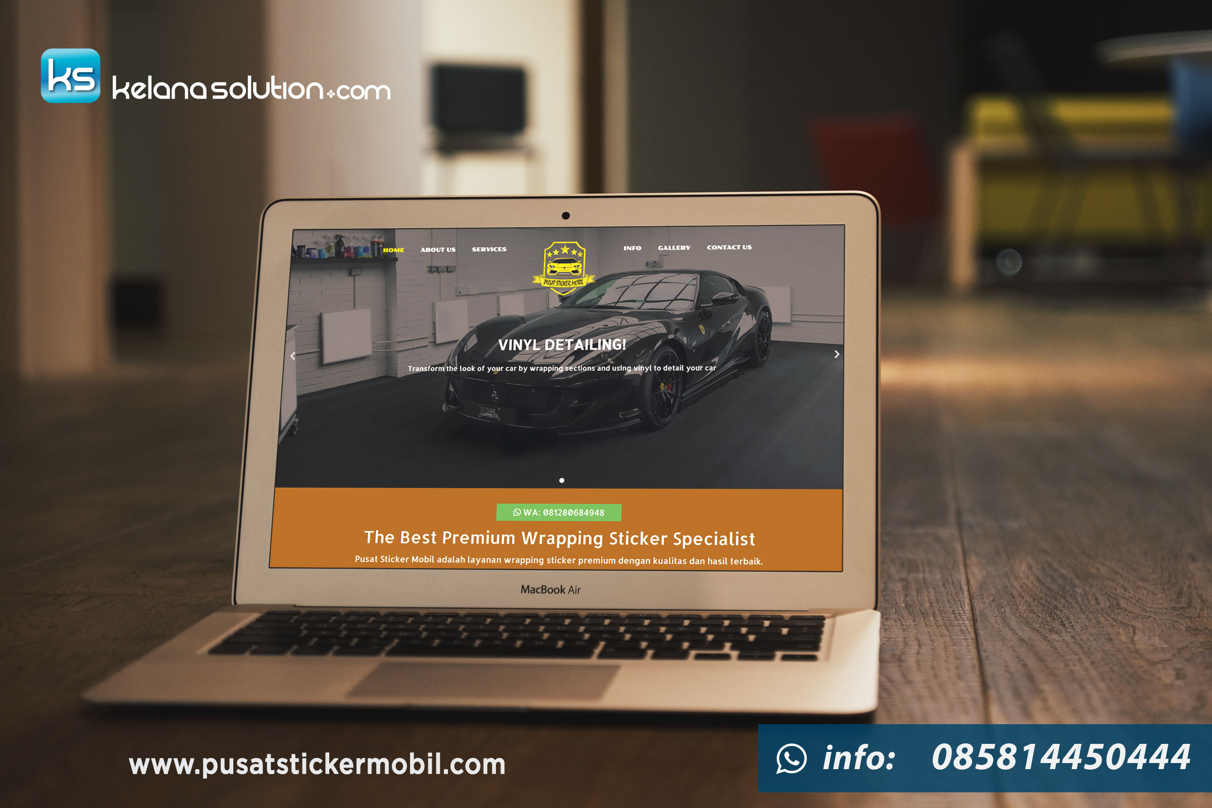 Pusat Sticker Mobil Premium - pusatstickermobil.com