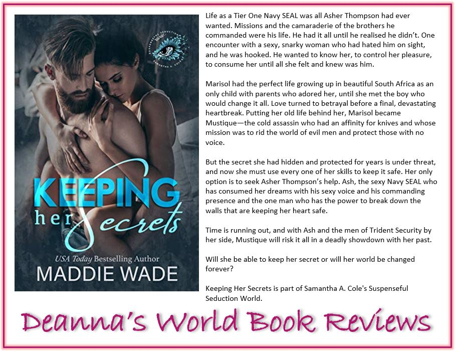 Keeping Her Secrets by Maddie Wade blurb