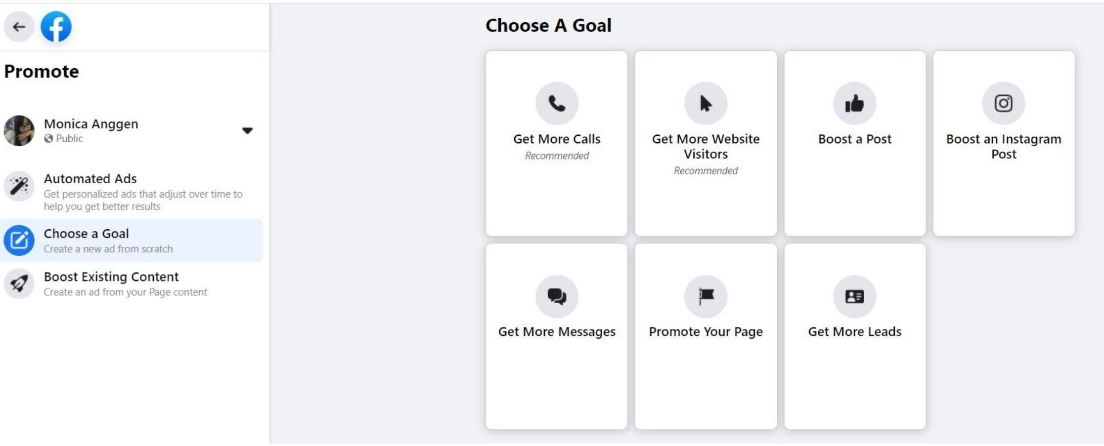 Beriklan di Facebook Ads