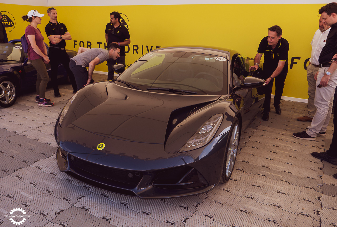Striking new Lotus Emira wows crowds at Goodwood Festival of Speed