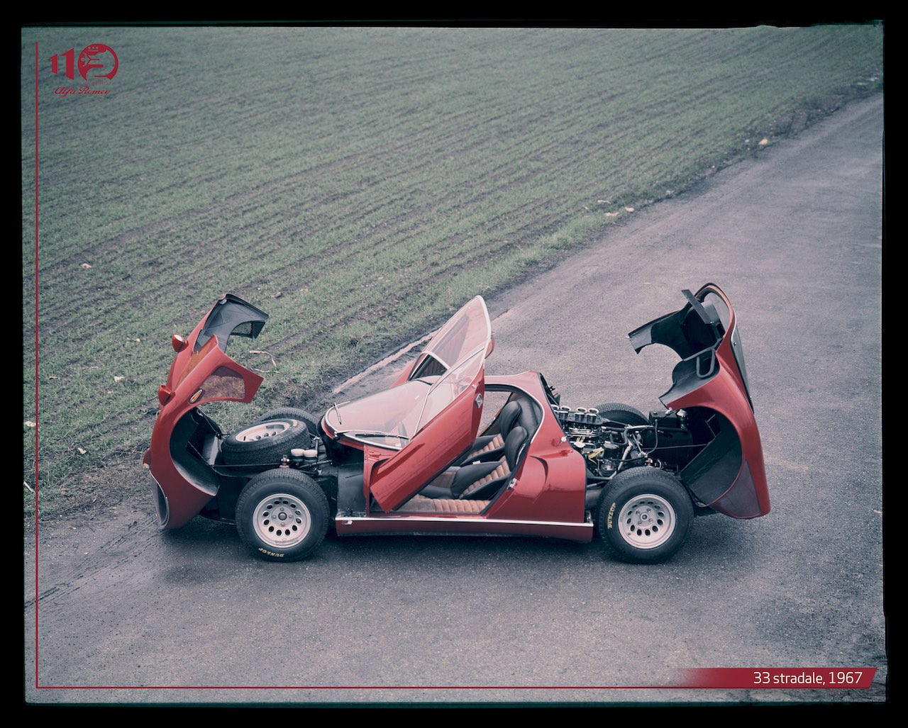 3 iconic Alfa Romeo's - 33 Stradale, Carabo and the Montreal