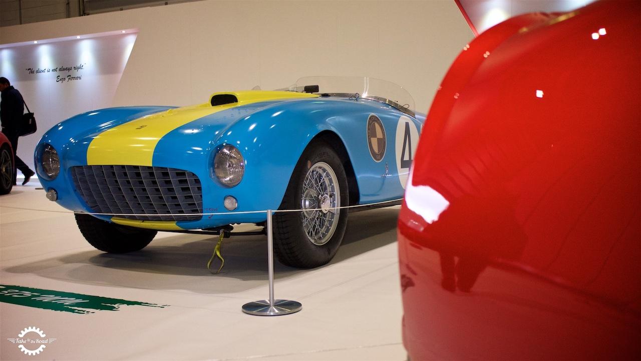 Take to the Road News Ferrari Tribute London Classic Car Show 2017