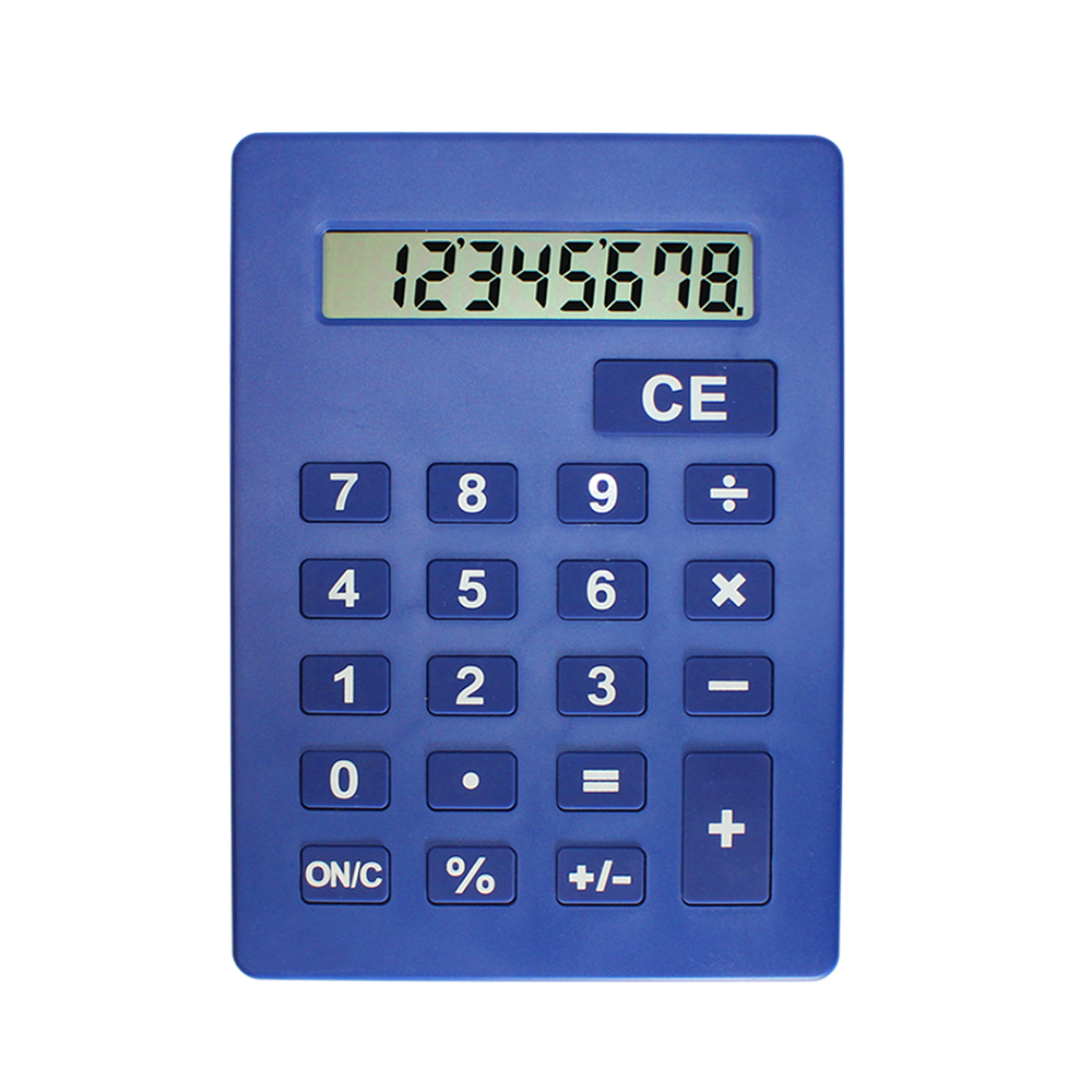 Jumbo Calculator Large Size Display Blue