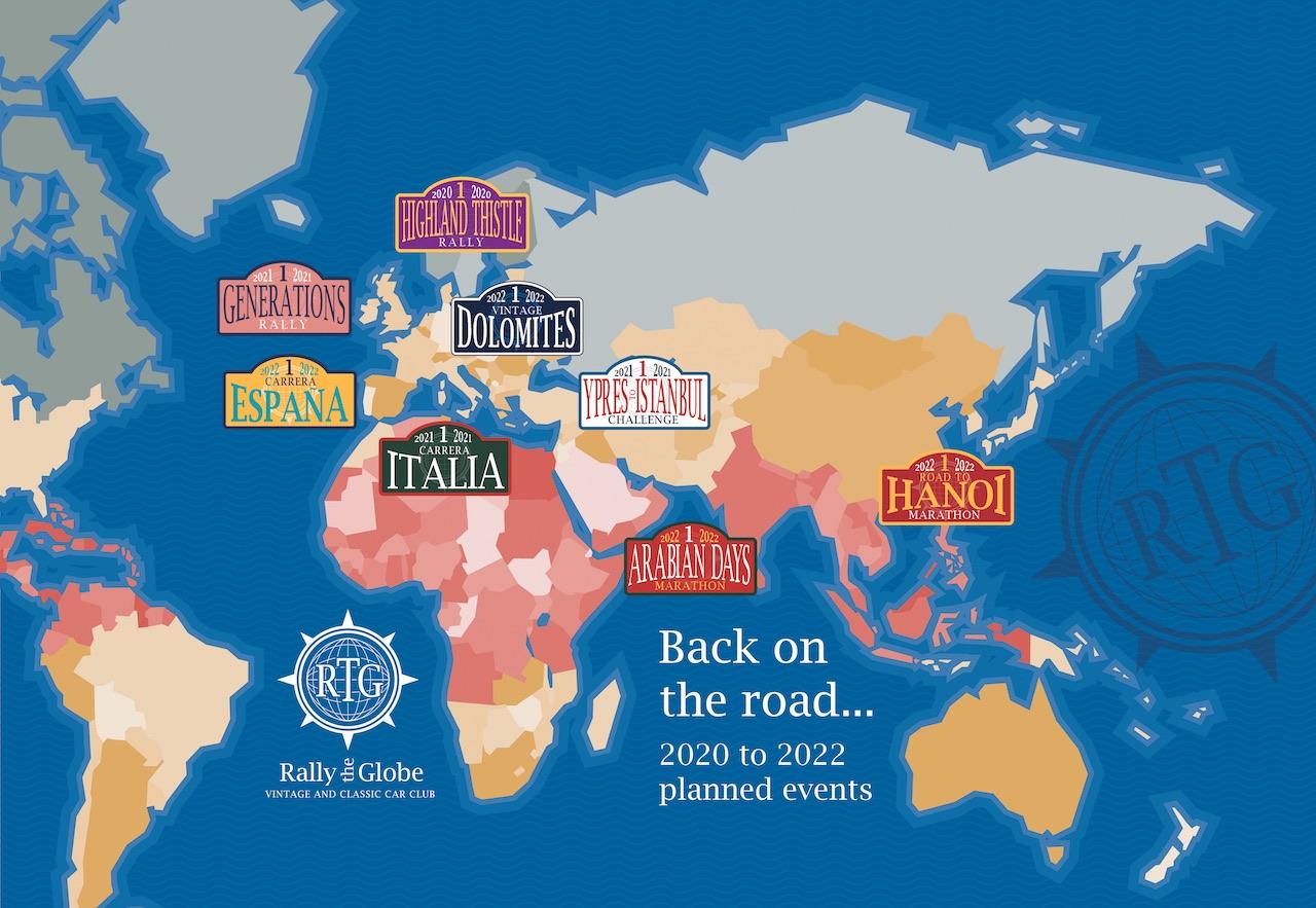 Rally the Globe announce innovative new calendar of events