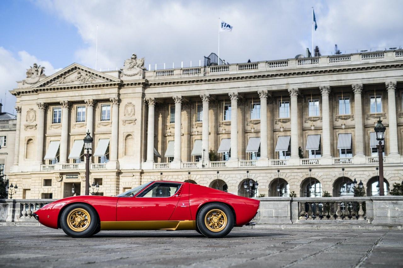 Lamborghini marks 50th anniversary of the mighty Miura SV