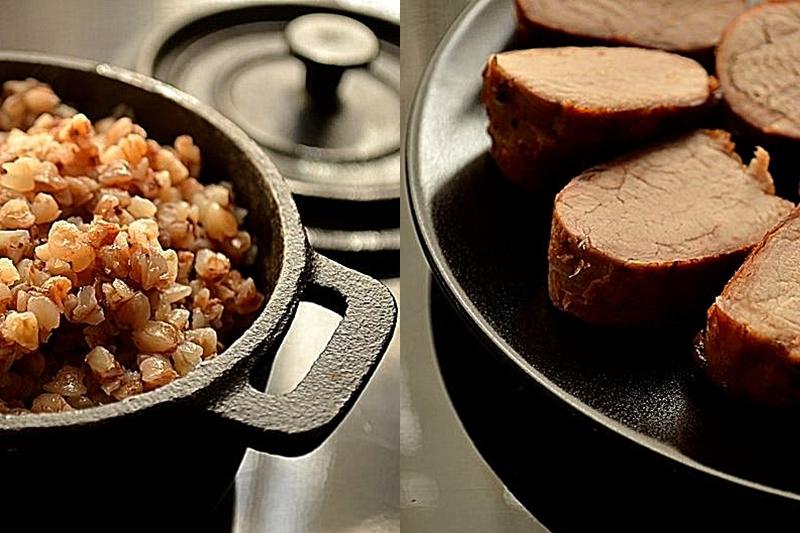 Свиная вырезка, маринованная в барбарисовом рассоле