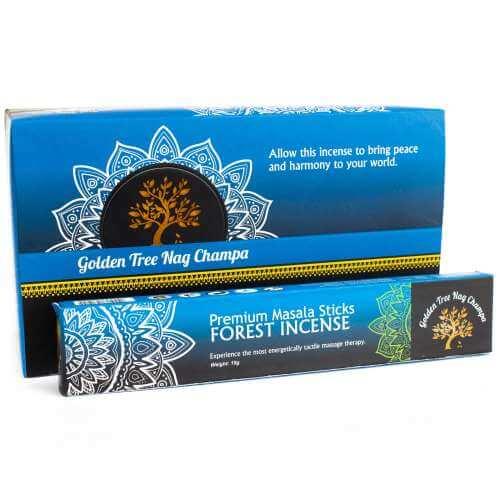 golden tree premium nag champa incense - forest blend