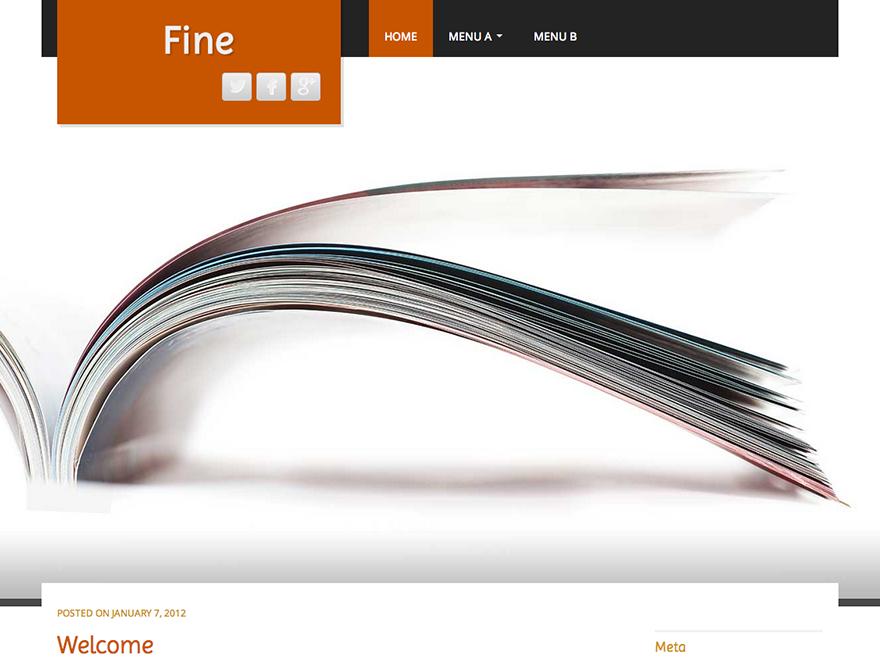 fine - free theme thang ba
