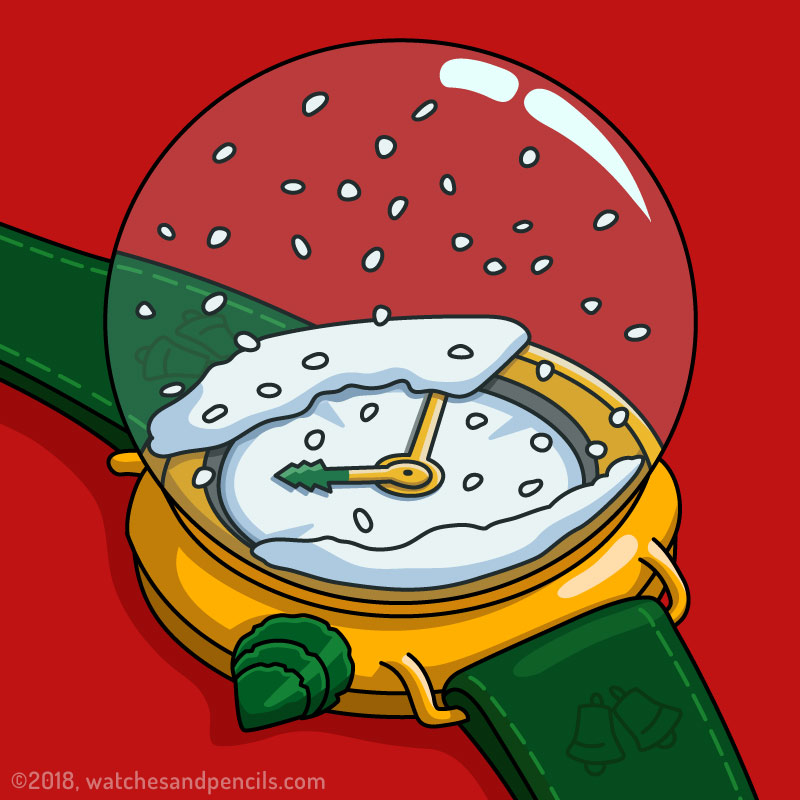 Snow Globe Watch
