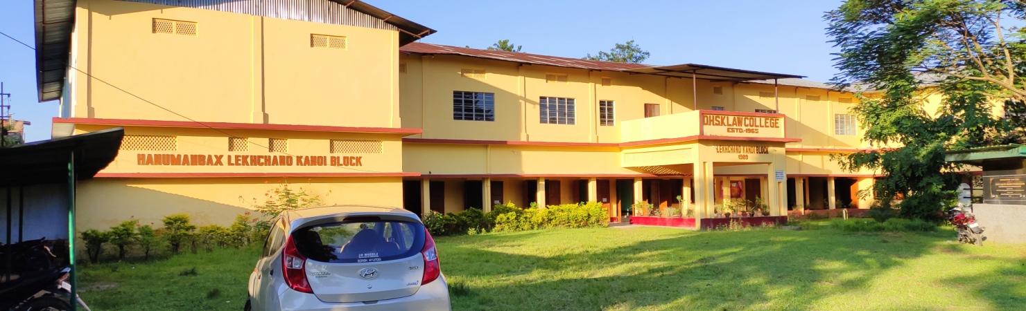 Dibrugarh Hanumanbux Surajmal Kanoi Law College