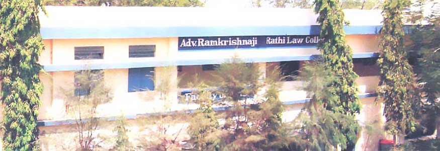 Advocate Ramakrishnaji Rathi Law College