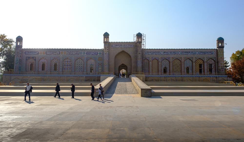 Het Khudayan Khan paleis