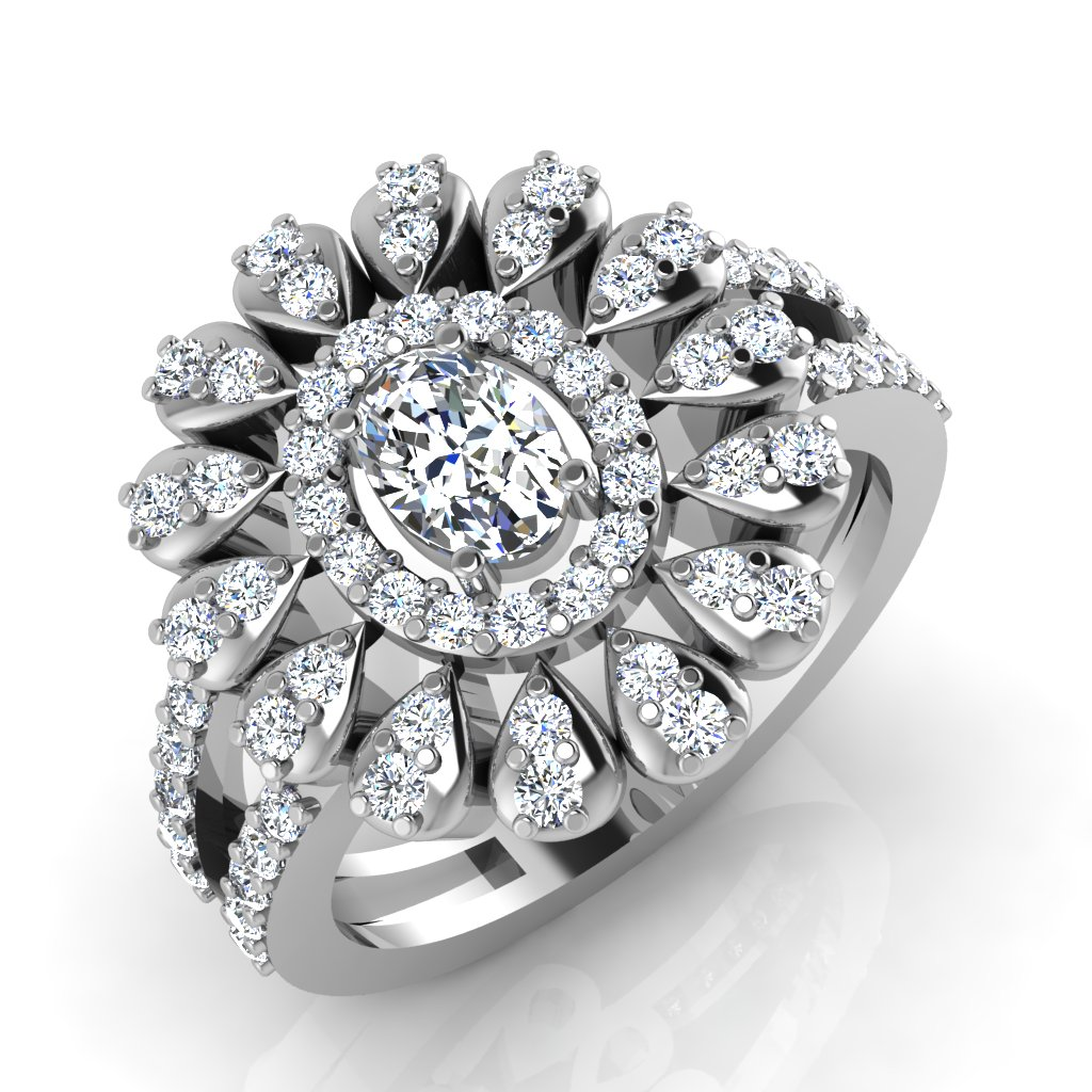 The Ribha Solitaire Ring