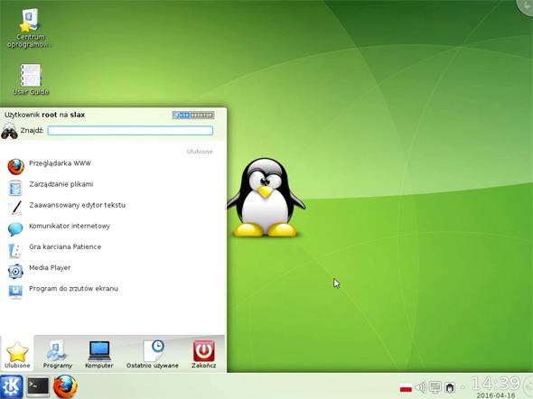 Slax Linux jako