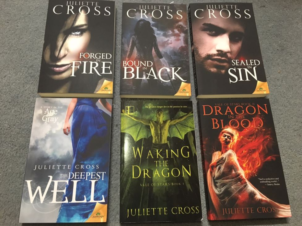 Juliette Cross book swag