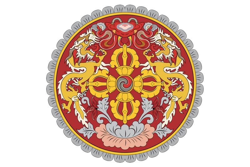 Escudo de Bután