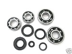 Bottom End Bearings and Seals Kit Kawasaki KX250 1978-1979 Engine