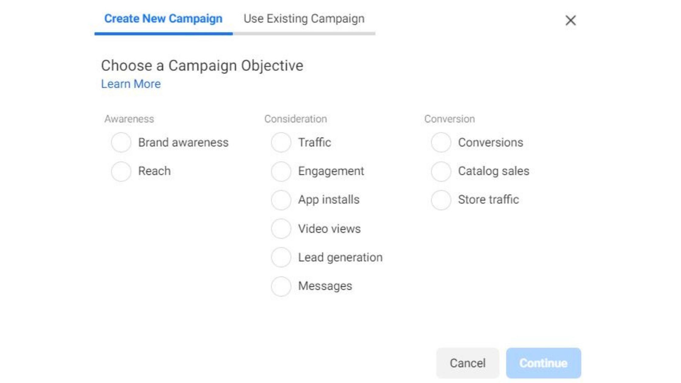Iklan di Facebook Ads Manager