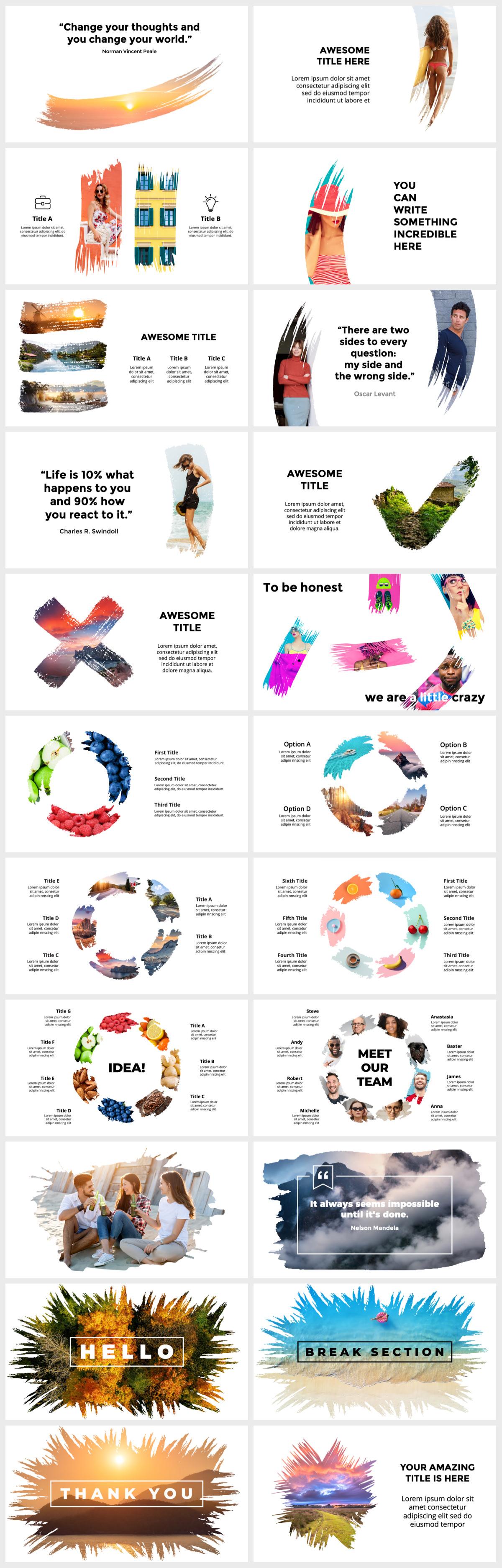 Huge Infographics Bundle! Lifetime Updates! PowerPoint, Photoshop, Illustrator. - 119