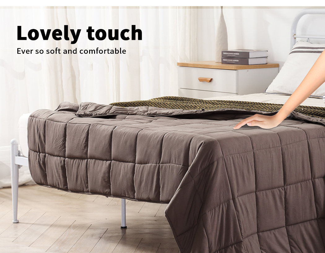 thumbnail 30 - DreamZ Weighted Blanket Heavy Gravity Deep Relax 5/7/9KG Adult Kid Double Queen
