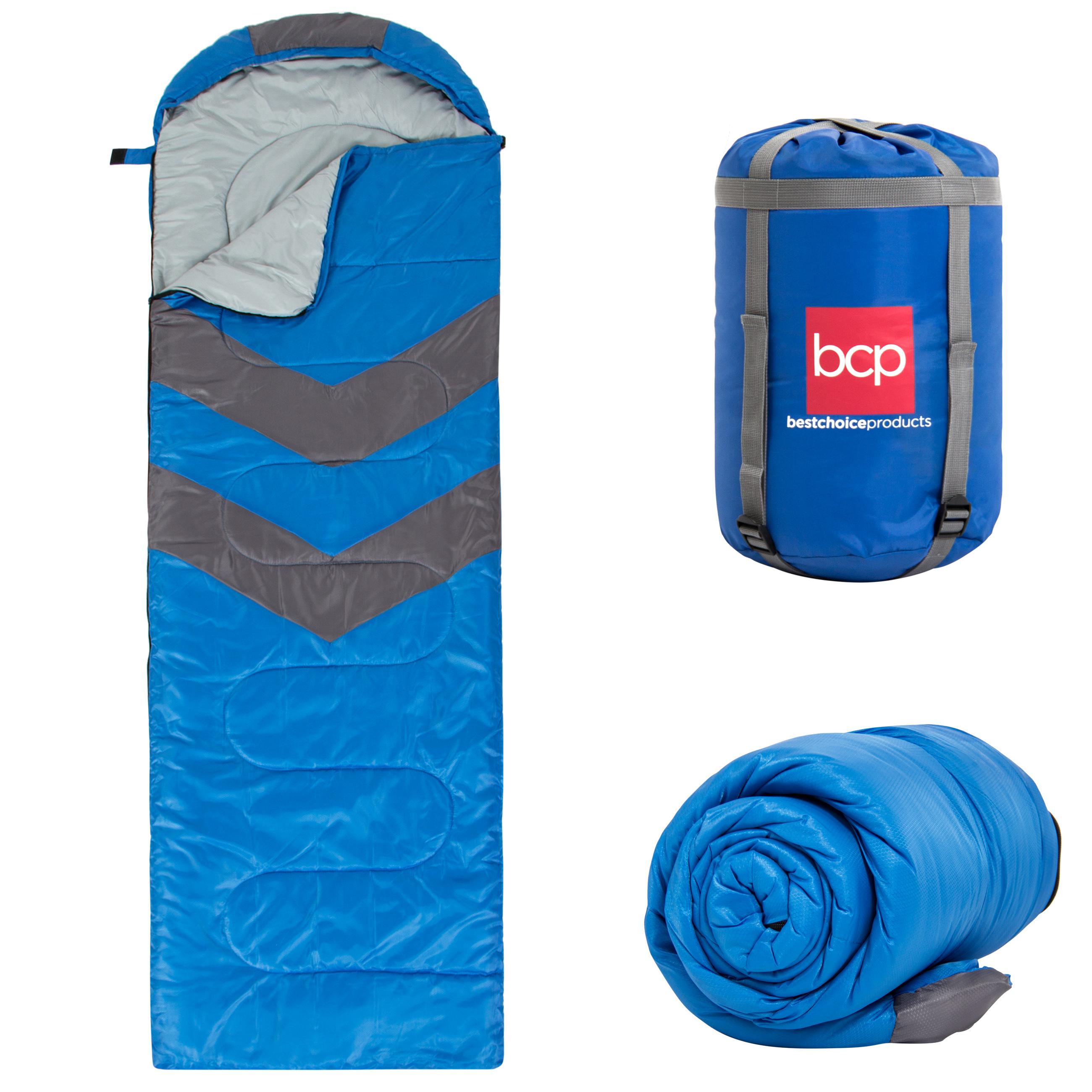 4-Season Water-Resistant 20F Portable Envelope Sleeping ...