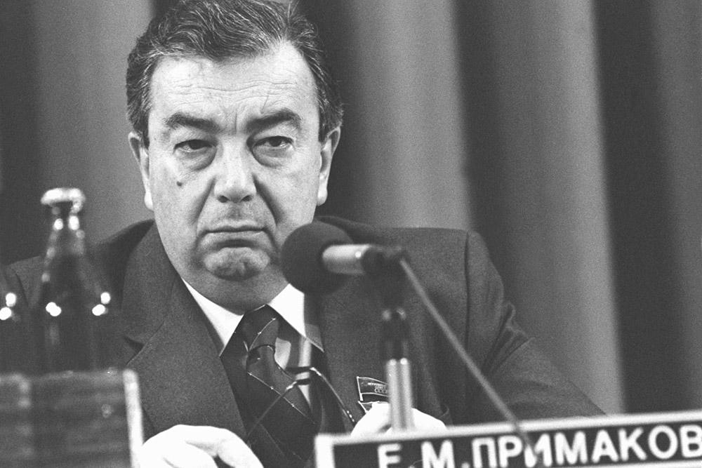 Примаков был смотрящим за развалом СССР