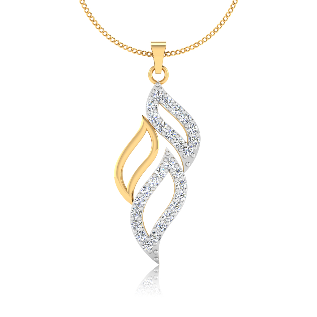 The Thoughtful Lead Diamond Pendant