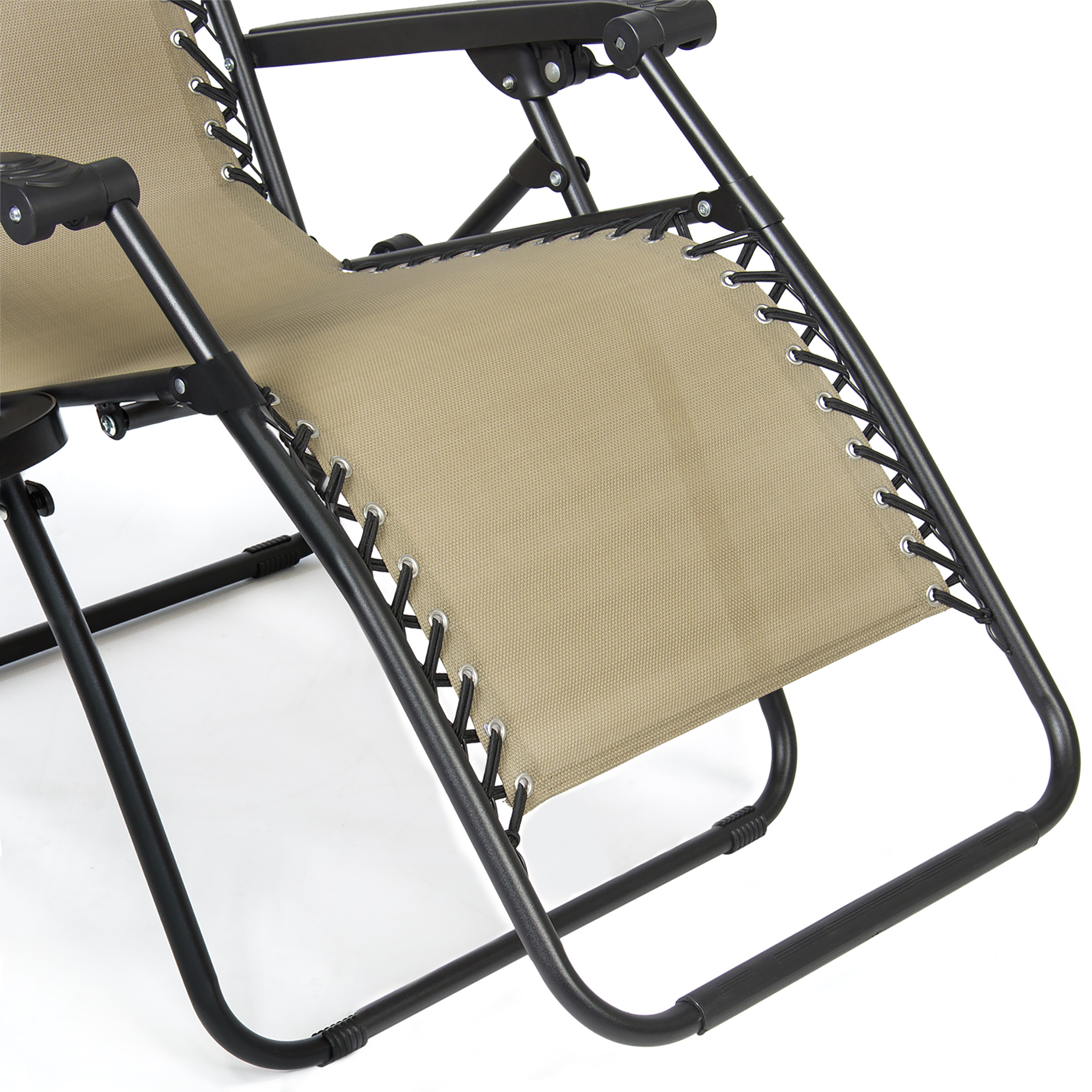 BCP-Folding-Zero-Gravity-Recliner-Lounge-Chair-w-Canopy-Cup-Holder thumbnail 13