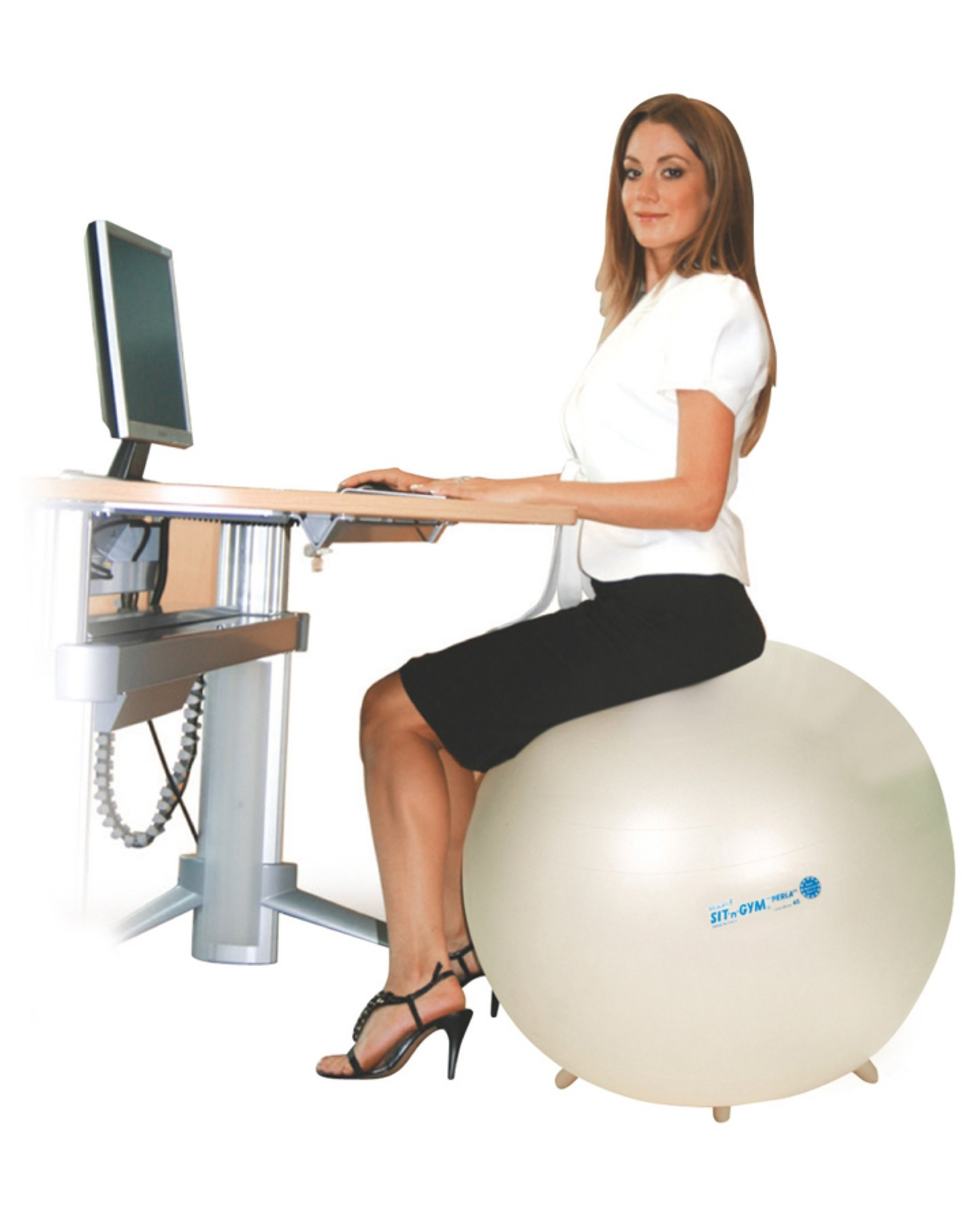 Zitbal Sit 'n' Gym