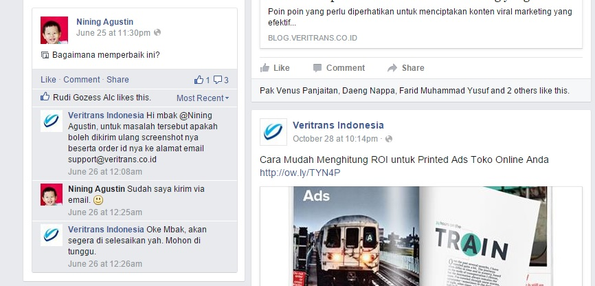 contoh media sosial