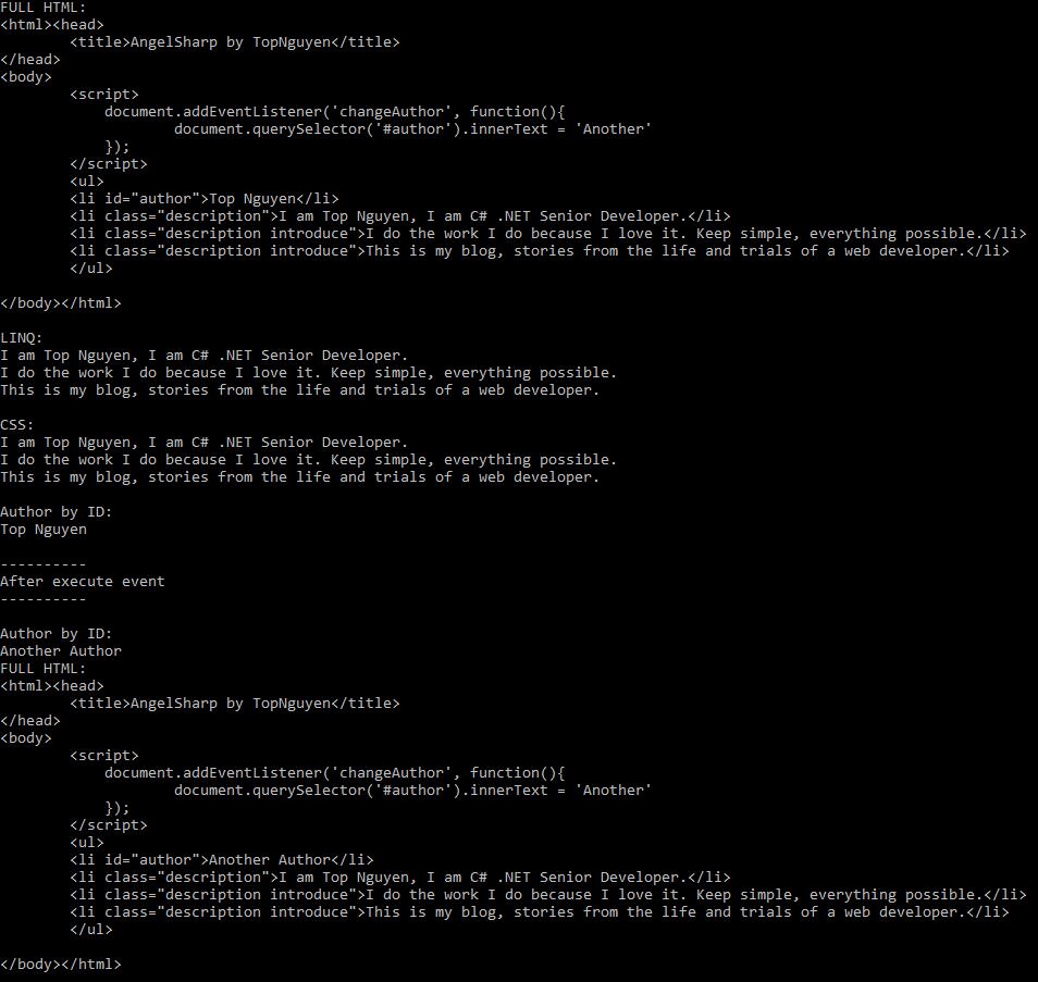 Result - Javascript