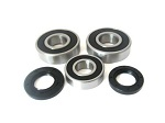 Boss Bearing 41-6280B-8J5-A-6 Rear Wheel Bearings and Seals Kit Suzuki GSX650...