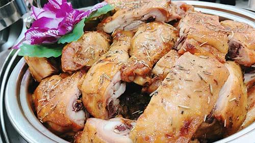 法式迷迭香烤雞腿排
