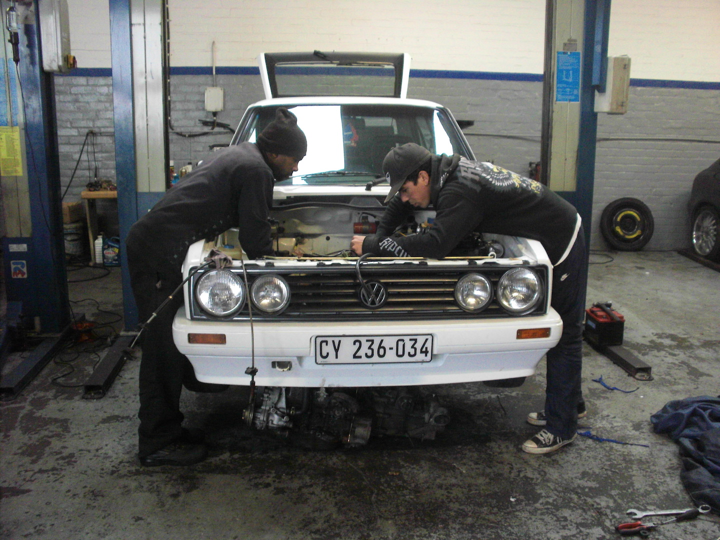 Take to the Road Enthusiasts Garage - Classic VW Passion South African style