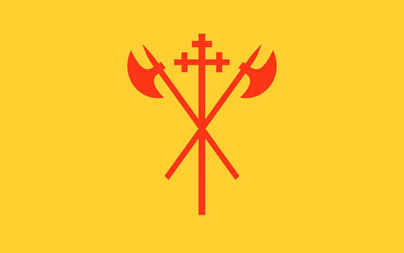 Bandera de Sor Trondelag