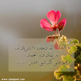 اذكار الصباح صور للنشر على الفيس بوك - رمزيات اجمل اذكار الصباح ادعية دينية مكتوبة على ورود - صور اسلامية