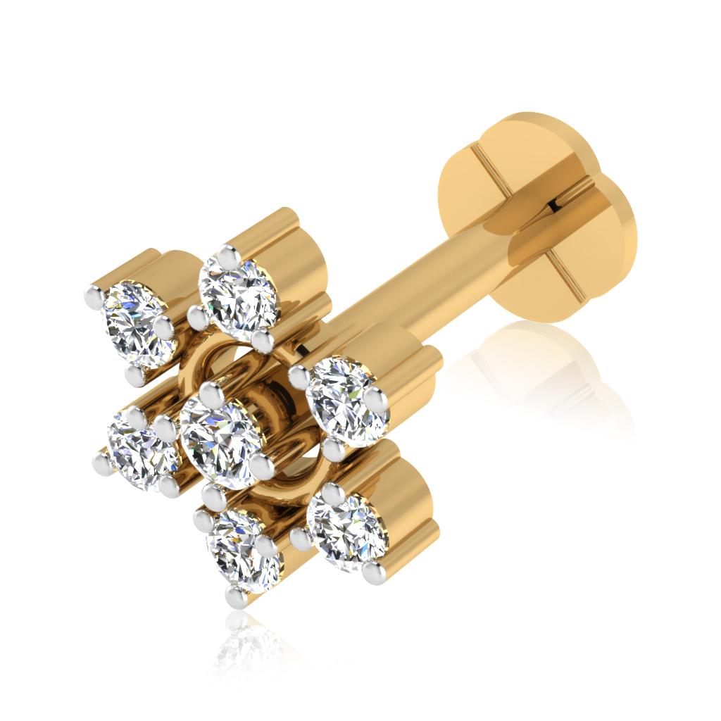 The Hyacinth Diamond Nose Screw
