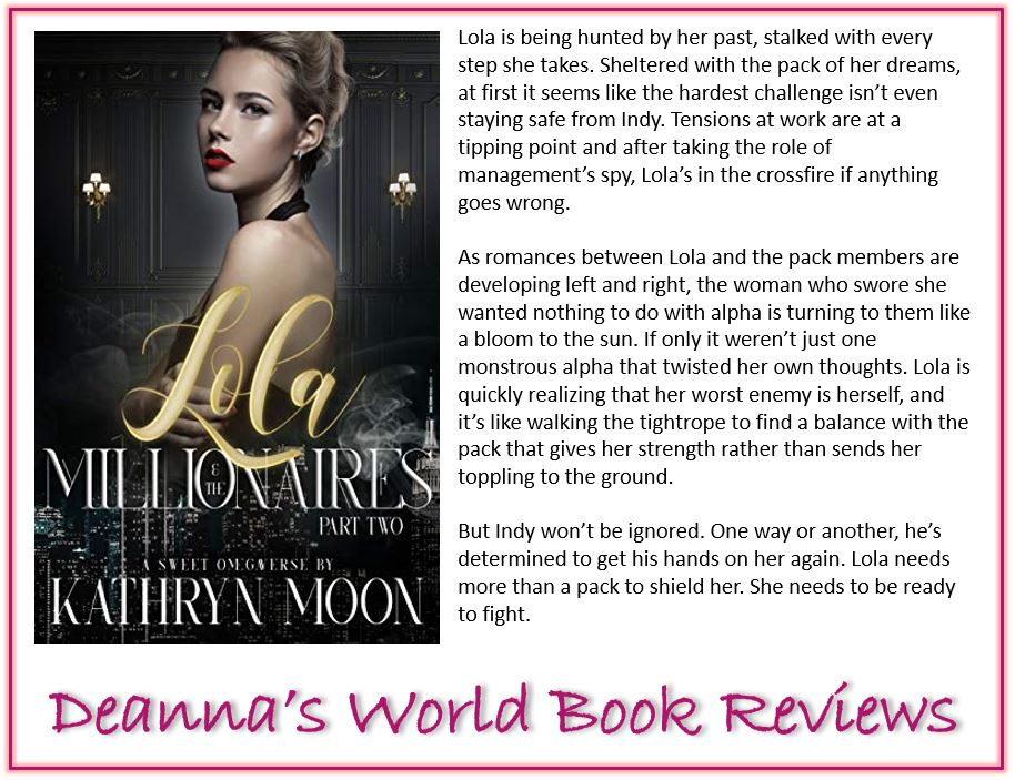 Lola and the Millionaires Part Two by Kathryn Moon blurb
