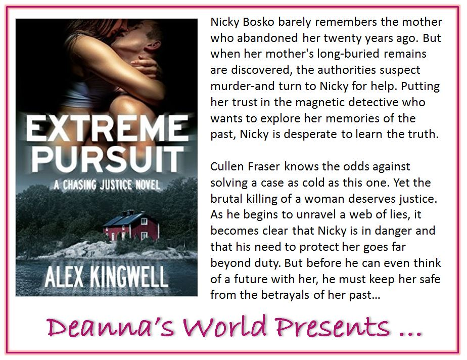 Extreme Pursuit by Alex Kingwell blurb