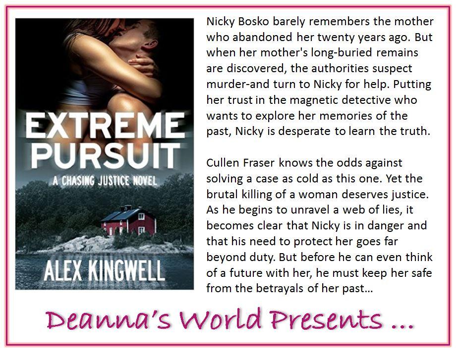 Extreme Pursuit by Alex Kingwell blurb